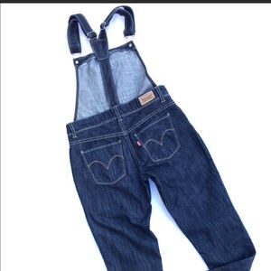 Levi's overalls with full length legs